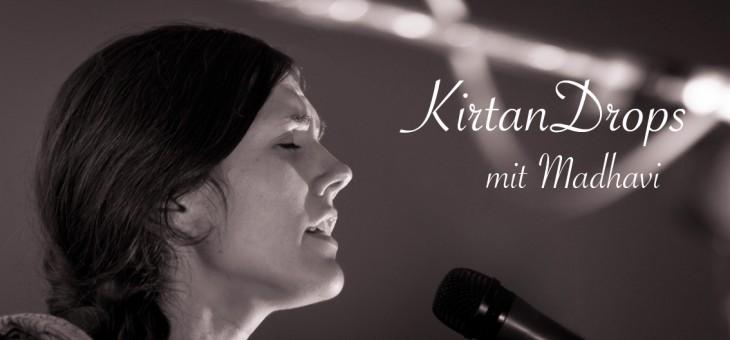 KirtanDrops mit Madhavi – Montag 23. Mai um 19 Uhr