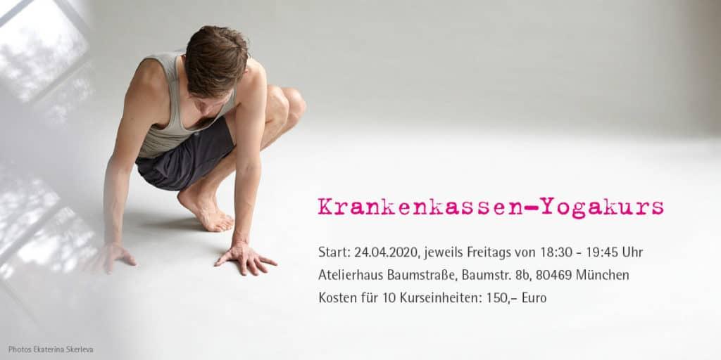 Krankenkassen-Yogakurs mit Felix Krammer