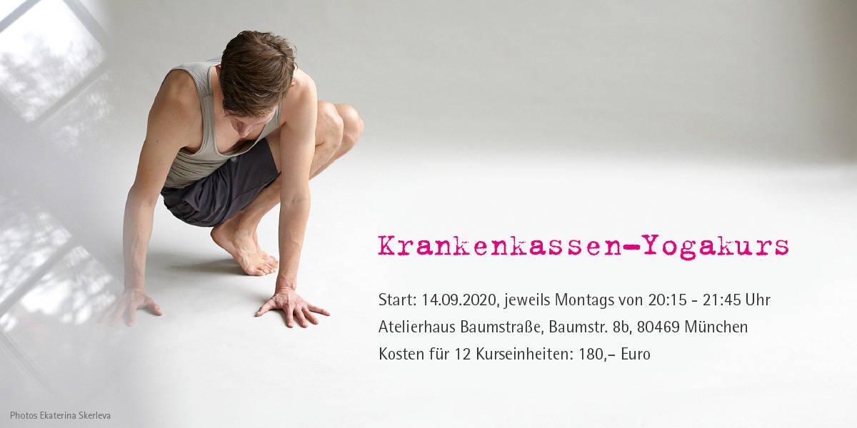 Krankenkassen-Yogakurs startet am 14.09.2020!