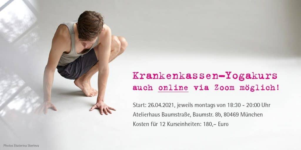 online Yogakurs mit Erstattung durch die Krankenkasse
